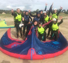 cours kitesurf saint brevin école kite